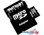 Карта памяти Patriot microSDHC (Class 10) 32 Гб + адаптер (PSF32GMCSDHC10)