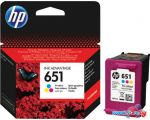 Картридж для принтера HP 651 Tri-color [C2P11AE]