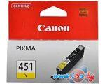 Картридж для принтера Canon CLI-451Y