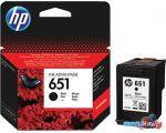 Картридж для принтера HP 651 Black [C2P10AE]