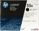 Картридж для принтера HP LaserJet 55X (CE255XD)