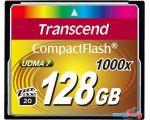 Карта памяти Transcend 1000x CompactFlash Ultimate 128GB (TS128GCF1000) в рассрочку
