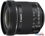 Объектив Canon EF-S 10-18mm f/4.5-5.6 IS STM в Витебске