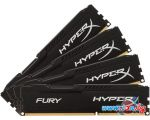 Оперативная память Kingston HyperX Fury 4x8GB DDR4 PC4-19200 [HX421C14FB2K4/32]