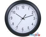 Настенные часы Бюрократ WallC-R02P (черный)