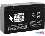 Аккумулятор для ИБП Security Power SP 6-12 F1 (6В/12 А·ч)