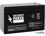 Аккумулятор для ИБП Security Power SP 12-9 F2 (12В/9 А·ч)