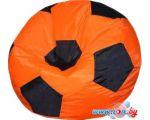 Кресло-мешок Flagman Мяч Стандарт М1.1-06 (оранжевый/черный)