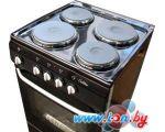 Кухонная плита De luxe 5004.12э (чёрная)