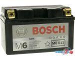 Мотоциклетный аккумулятор Bosch M6 YTZ10S-4/YTZ10S-BS 508 901 015 (8 А·ч) цена