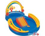 Надувной бассейн Intex Rainbow Ring Play Center 297x193x135 (57453)