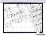 Проекционный экран CACTUS Motoscreen CS-PSM-180x180