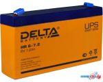 Аккумулятор для ИБП Delta HR 6-7.2 (6В/7.2 А·ч)