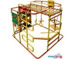 Детский спортивный комплекс Формула здоровья Мурзилка-S оранжевый-радуга