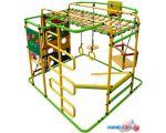 Детский спортивный комплекс Формула здоровья Мурзилка-S салатовый-радуга