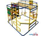 Детский спортивный комплекс Формула здоровья Мурзилка-S синий-радуга