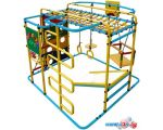 Детский спортивный комплекс Формула здоровья Мурзилка-S голубой-радуга