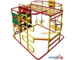 Детский спортивный комплекс Формула здоровья Мурзилка-S красный-радуга