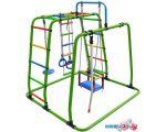 Детский спортивный комплекс Формула здоровья Игрунок Т плюс салатовый-радуга