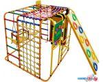 Детский спортивный комплекс Формула здоровья Кубик У Плюс оранжевый-радуга