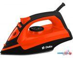 Утюг Delta DL-755 (черный/оранжевый)