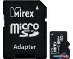 Карта памяти Mirex microSDXC UHS-I (Class 10) 128GB + адаптер [13613-AD10S128]