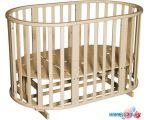 Детская кроватка Антел Северянка 3 (слоновая кость)