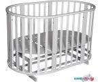 Детская кроватка Антел Северянка 3 (белый)