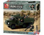 Конструктор Sluban M38-B0301 Армейский грузовик