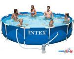 Каркасный бассейн Intex Metal Frame 366х76 (56996/28212)