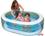 Надувной бассейн Intex Oval Whale Fun 163x107x46 (57482)