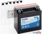 Мотоциклетный аккумулятор Exide ETX14L-BS (12 А·ч)