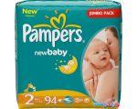 Подгузники Pampers New Baby 2 Mini Jumbo Pack (94 шт)