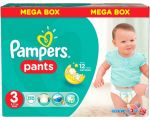 Трусики-подгузники Pampers Pants 3 Midi (120 шт)