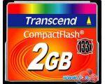 Карта памяти Transcend 133x CompactFlash 2 Гб (TS2GCF133) цена