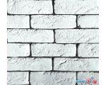 купить Декоративный камень Polinka Кирпич шамотный 0300 (белый)