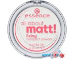 Компактная пудра Essence All About Matt! Fixing Compact Powder