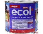 Эмаль Ecol ПФ-115 2л (желтый) цена