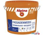 Краска Alpina Expert Fassadenweiss (База 1, 10 л)