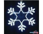 3D-фигура Neon-night Снежинка (55x55 см, белый мерцающий) [501-337]