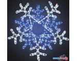 3D-фигура Neon-night Снежинка (60x60 см, белый/синий) [501-531]