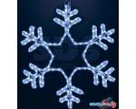 3D-фигура Neon-night Снежинка LED (55x55 см, синий) [501-335]