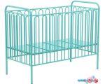 Классическая детская кроватка Polini Kids Vintage 110 (бирюзовый)