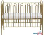 Классическая детская кроватка Polini Kids Vintage 110 (бронзовый)