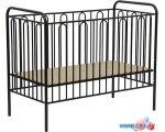 Классическая детская кроватка Polini Kids Vintage 150 (черный)