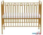Классическая детская кроватка Polini Kids Vintage 110 (золотистый)