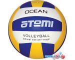 Мяч Atemi Ocean (синий/красный/белый)