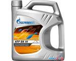 Трансмиссионное масло Gazpromneft ATF DX III 4л