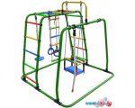 Детский спортивный комплекс Формула здоровья Игрунок Т плюс зеленый-радуга