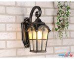 Уличный фонарь Elektrostandard Mira D (черное золото)